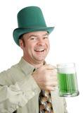 выпивая ирландская песня Стоковое фото RF