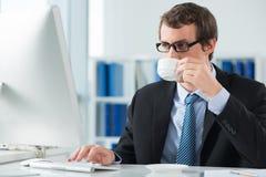 Выпивая кофе утра Стоковые Изображения RF