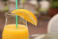 Выпивая сок Стоковое Фото