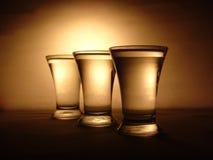 выпивая стекла Стоковое Изображение