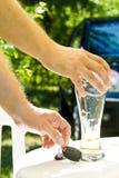 выпивая управлять стоковая фотография