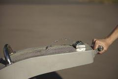 Выпивая фонтан в парке Стоковые Фотографии RF