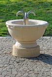 выпивая фонтан Стоковая Фотография RF