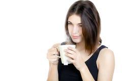выпивая чай Стоковая Фотография RF