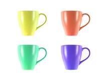Выпивая чашки Стоковые Фото