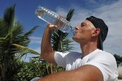 выпивая человек s Стоковое Изображение RF