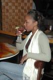 выпивая martini s стоковое изображение rf