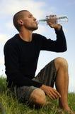 выпивая water1 Стоковое фото RF