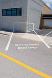 Выпитая стоянка автомобилей водителя стоковые изображения rf