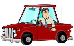 выпитый водитель бесплатная иллюстрация