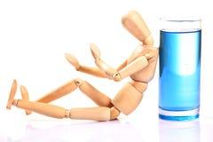выпитый манекен Стоковое Фото