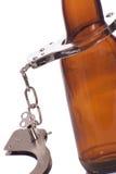 выпитый управлять Стоковая Фотография RF