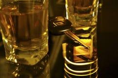 выпитый управлять Стоковое Фото