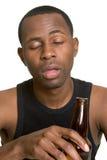 выпитый человек Стоковая Фотография RF