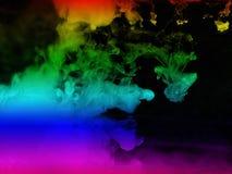 выплеск воды радуги для рисовать и красить и иллюстрации Стоковые Фотографии RF