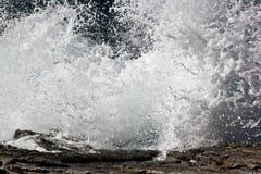 Выплеск волны Стоковые Изображения