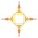 выплеск знамени цветастый иллюстрация вектора
