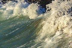 Выплеск и падения воды стоковая фотография rf