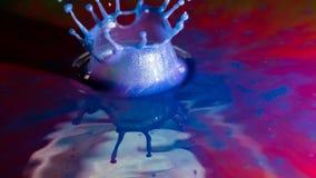 Выплеск конспекта цвета Стоковые Фото