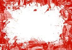 выплеск космоса рамки экземпляра крови Стоковое Изображение