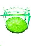 выплеск лимона Стоковое Изображение RF