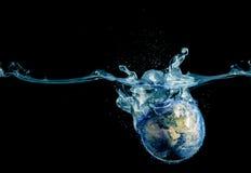 Выплеск мира Стоковое Изображение