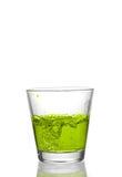 выплеск питья Стоковая Фотография