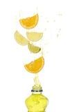 выплеск плодоовощ питья Стоковые Фото