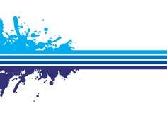 выплеск предпосылки голубой Стоковое фото RF