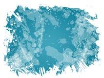 выплеск предпосылки голубой Стоковые Фотографии RF
