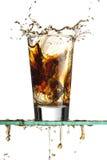 выплеск соды стоковое изображение