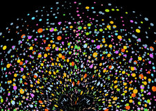 выплеск цвета иллюстрация вектора
