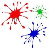 выплеск цвета Стоковое Изображение RF