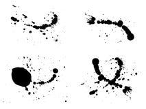 выплеск чернил иллюстрации Стоковое Изображение RF