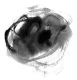 выплеск чернил предпосылки Стоковые Фотографии RF