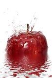 выплеск яблока Стоковое Изображение RF