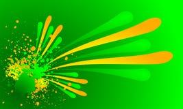 выплеск grunge цвета свежий иллюстрация штока