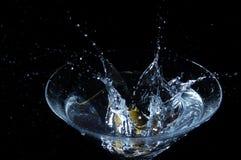 выплеск martini стоковое изображение rf