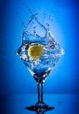 выплеск martini Стоковая Фотография RF