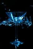 выплеск martini стоковое фото