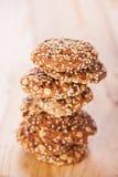 выплеск oatmeal печений Стоковая Фотография RF