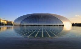 выполнять центра Пекин искусств национальный стоковые изображения