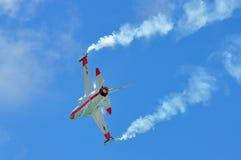 выполнять kai орла дисплея airshow воздуха золотистый Стоковая Фотография