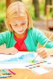 Выполнять ее творческие способности Стоковые Изображения