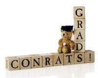 выпускники congrats Стоковая Фотография