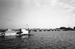 Выпускной вечер на реке vistula. Стоковое Изображение RF
