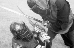 выпускные экзамены боя Стоковые Фотографии RF