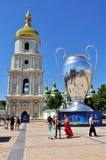 Выпускные экзамены лиги чемпионов UEFA в Киеве стоковые изображения rf