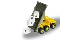 Выпустите ваши задолженности. Стоковые Изображения