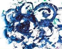 Выплеск акварели красочный Стоковая Фотография RF